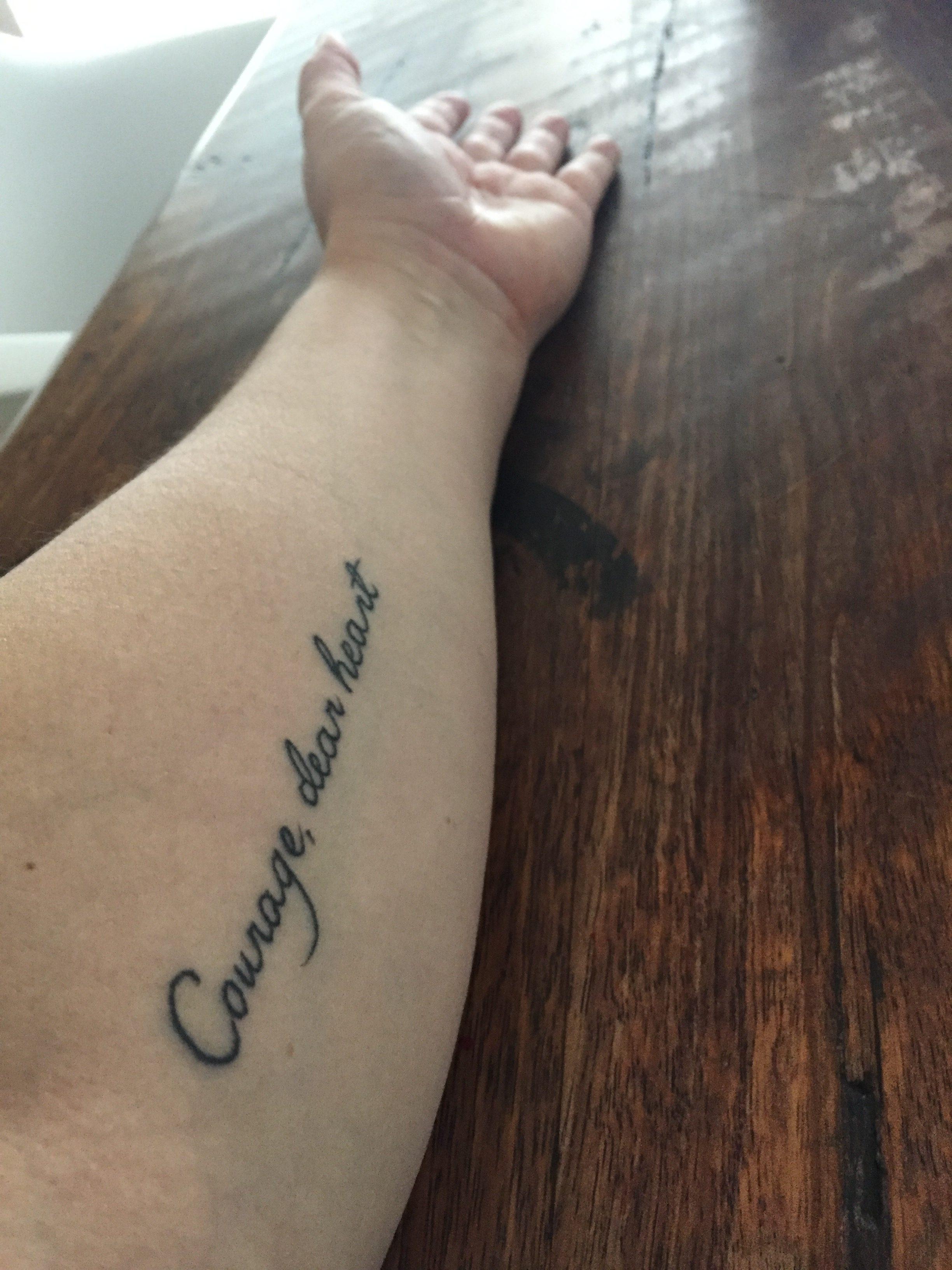 Courage, Dear Heart – Jane's Story