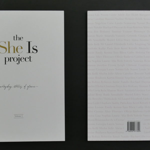 The She Is Project Book - Everyday Stories of Grace - Volume One
